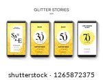 set of sale web banners for... | Shutterstock .eps vector #1265872375