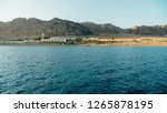 egypt red sea dahab in sunny... | Shutterstock . vector #1265878195
