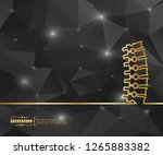 abstract creative concept... | Shutterstock .eps vector #1265883382