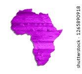 sketch wooden african continent ...   Shutterstock .eps vector #1265890918