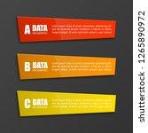 vector business infographic...   Shutterstock .eps vector #1265890972