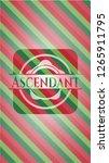 ascendant christmas colors... | Shutterstock .eps vector #1265911795