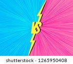 vector versus background with... | Shutterstock .eps vector #1265950408