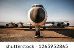 Abandoned Aircraft In The Desert