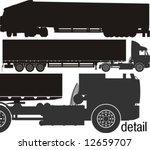 vector heavy semi truck... | Shutterstock .eps vector #12659707