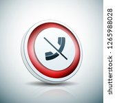 no call phone button... | Shutterstock .eps vector #1265988028