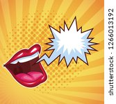 entertainment show concept | Shutterstock .eps vector #1266013192