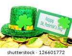 Happy St Patrick\'s Day Tag Wit...