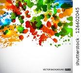 splash background. eps10 vector | Shutterstock .eps vector #126602045