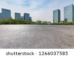 panoramic skyline and modern... | Shutterstock . vector #1266037585