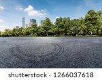 panoramic skyline and modern...   Shutterstock . vector #1266037618