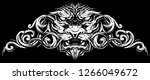 graphic detailed decorative... | Shutterstock .eps vector #1266049672