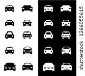 Stock vector car icon vector design pictogram 1266055615
