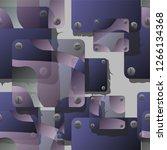 hand drawn seamless vector... | Shutterstock .eps vector #1266134368