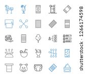 soft icons set. collection of... | Shutterstock .eps vector #1266174598