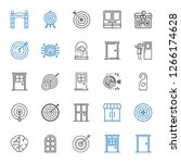 conceptual icons set.... | Shutterstock .eps vector #1266174628