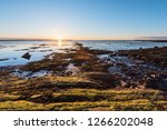 sunset in rimouski  quebec with ...   Shutterstock . vector #1266202048