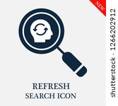 refresh search icon. refresh...