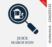 juice search icon. juice icon...