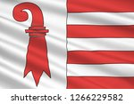 flag of republic and canton of... | Shutterstock . vector #1266229582