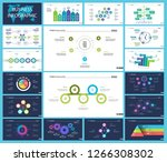 creative business infographic... | Shutterstock .eps vector #1266308302