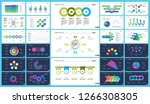 creative business infographic... | Shutterstock .eps vector #1266308305
