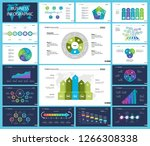 business inforgraphic design... | Shutterstock .eps vector #1266308338