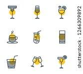 vector illustration of 9... | Shutterstock .eps vector #1266309892