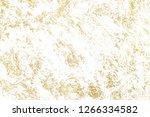 gold splashes texture. brush...   Shutterstock . vector #1266334582
