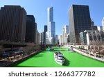 chicago skyline cityscape as...   Shutterstock . vector #1266377782