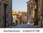 street in the historic centre... | Shutterstock . vector #1266415738