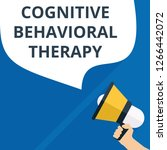 text sign showing cognitive... | Shutterstock .eps vector #1266442072