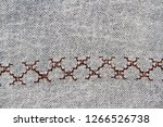 turkish embroidery pattern as... | Shutterstock . vector #1266526738