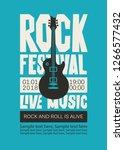 vector poster or banner for... | Shutterstock .eps vector #1266577432
