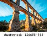 Roman Aqueduct Pont Del Diable...