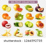 realistic set of various kinds... | Shutterstock .eps vector #1266592735