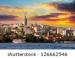 Istanbul At Sunset   Galata...
