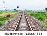 Rail Road Heading Into Infinity
