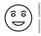 lol emoji vector icon sign icon ...   Shutterstock .eps vector #1266656842