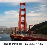 long exposure photograph of... | Shutterstock . vector #1266674452