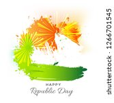 illustration of happy indian... | Shutterstock .eps vector #1266701545