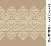 ethnic boho seamless pattern.... | Shutterstock .eps vector #1266717235
