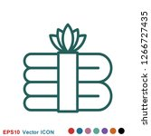aromatherapy icon  accessory... | Shutterstock .eps vector #1266727435
