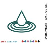 aromatherapy icon  accessory... | Shutterstock .eps vector #1266727438