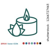aromatherapy icon  accessory... | Shutterstock .eps vector #1266727465