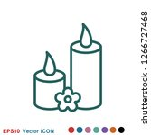 aromatherapy icon  accessory... | Shutterstock .eps vector #1266727468