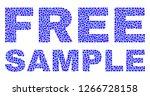 dot vector free sample text... | Shutterstock .eps vector #1266728158