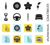 bitmap illustration of auto and ...   Shutterstock . vector #1266788155