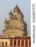 dakshineshwar kali temple... | Shutterstock . vector #1266827575