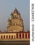 dakshineshwar kali temple... | Shutterstock . vector #1266827608